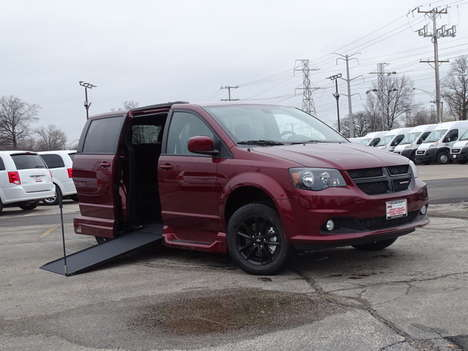 New Wheelchair Van For Sale: 2020 Dodge Grand Caravan SE Wheelchair Accessible Van For Sale with a SE Plus Wagon on it. VIN: 2C4RDGBG1LR259265