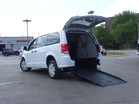 New Wheelchair Van For Sale: 2020 Dodge Grand Caravan SE Wheelchair Accessible Van For Sale with a SE Wagon on it. VIN: 2C4RDGBG3LR248784