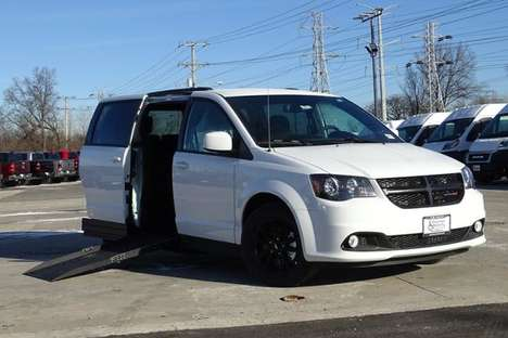 New Wheelchair Van For Sale: 2020 Dodge Grand Caravan SE Wheelchair Accessible Van For Sale with a SE Plus Wagon on it. VIN: 2C4RDGBG4LR236711