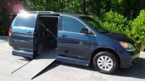 Used Wheelchair Van For Sale: 2010 Honda Odyssey EX-L Wheelchair Accessible Van For Sale with a VMI - Honda Northstar on it. VIN: 00000000000003561