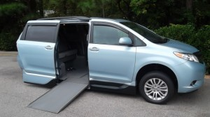 Used Wheelchair Van For Sale: 2015 Toyota Sienna XLE Wheelchair Accessible Van For Sale with a VMI - Toyota NorthstarAccess360 on it. VIN: 00000000000676559