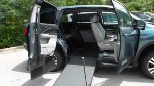 New Wheelchair Van For Sale: 2018 Honda Pilot EX-L Wheelchair Accessible Van For Sale with a VMI - VMI Honda Pilot with Northstar E on it. VIN: 00000000000005293