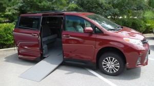New Wheelchair Van For Sale: 2018 Toyota Sienna XLE Wheelchair Accessible Van For Sale with a VMI - Toyota NorthstarAccess360 on it. VIN: 00000000000963284