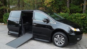 Used Wheelchair Van For Sale: 2017 Honda Odyssey Touring Wheelchair Accessible Van For Sale with a VMI - Honda Northstar on it. VIN: xxxxxxxxxxx004120