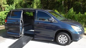 Used Wheelchair Van For Sale: 2009 Honda Odysey Exl  Wheelchair Accessible Van For Sale with a VMI - Honda Northstar on it. VIN: xxxxxxxxxxx406055