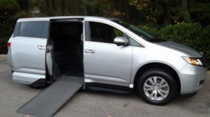 Used Wheelchair Van For Sale: 2014 Honda Odysey Exl  Wheelchair Accessible Van For Sale with a VMI - Honda Northstar on it. VIN: xxxxxxxxxxx115821