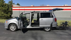 Used Wheelchair Van For Sale: 2016 Dodge Grand Caravan SXT  Wheelchair Accessible Van For Sale with a FR Wheelchair Vans - Dodge Rear Entry on it. VIN: 2c4rdgcgxgr340026