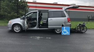 Used Wheelchair Van For Sale: 2016 Dodge Grand Caravan SXT  Wheelchair Accessible Van For Sale with a FR Wheelchair Vans - Dodge Rear Entry on it. VIN: 2c4rdgcg5gr330245