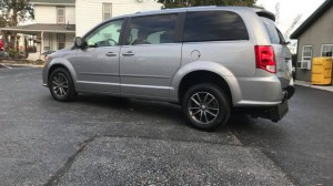 Used Wheelchair Van For Sale: 2017 Dodge Grand Caravan SXT  Wheelchair Accessible Van For Sale with a  on it. VIN: 2C4RDGCGXHR573373