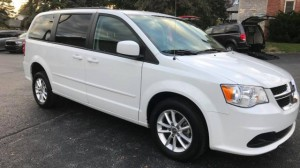 Used Wheelchair Van For Sale: 2016 Dodge Grand Caravan SXT  Wheelchair Accessible Van For Sale with a FR Wheelchair Vans - Dodge Rear Entry on it. VIN: 2C4RDGCG2GR373277