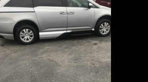 Used Wheelchair Van For Sale: 2016 Honda Odyssey  Wheelchair Accessible Van For Sale with a VMI - Honda Northstar on it. VIN: 5fnrl5h44gb013123
