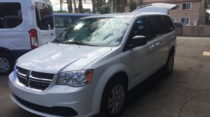 New Wheelchair Van For Sale: 2018 Dodge Caravan  Wheelchair Accessible Van For Sale with a BraunAbility - Dodge Manual Rear Entry on it. VIN: 2C7WDGBG4JR363557