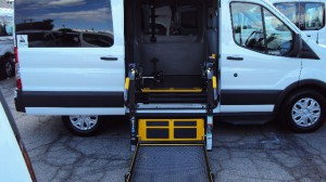 New Wheelchair Van For Sale: 2019 Ford T150 Vans  Wheelchair Accessible Van For Sale with a Sunset Vans Inc - FORD TRANSIT 148WB on it. VIN: 1FTYE2CM4KKA46680