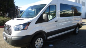 New Wheelchair Van For Sale: 2019 Ford T-150  Wheelchair Accessible Van For Sale with a Sunset Vans Inc - FORD TRANSIT 148WB on it. VIN: 1FTYE2CM5KKA53993
