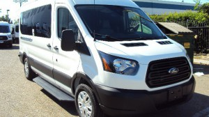 New Wheelchair Van For Sale: 2019 Ford T-150  Wheelchair Accessible Van For Sale with a Sunset Vans Inc - FORD TRANSIT 148WB on it. VIN: 1FTYE2CM2KKB39861