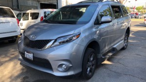 Used Wheelchair Van For Sale: 2015 Toyota Sienna Limited Wheelchair Accessible Van For Sale with a VMI - Toyota Summit Access360 on it. VIN: 5TDXK3DC8FS643782