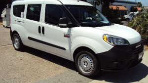 New Wheelchair Van For Sale: 2019 Ram Promaster  Wheelchair Accessible Van For Sale with a Sunset Vans Inc - Ram ProMaster City on it. VIN: ZFBHRFAB9K6M23433