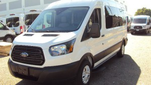 New Wheelchair Van For Sale: 2019 Ford T150 Vans  Wheelchair Accessible Van For Sale with a Sunset Vans Inc - FORD TRANSIT 148WB on it. VIN: 1FTYE2CM6KKB86701