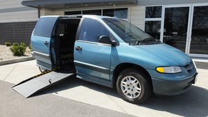 Used Wheelchair Van For Sale: 1996 Dodge Grand Caravan SE Wheelchair Accessible Van For Sale with a Non Branded Please See Description on it. VIN: 1B4GP44R4TB146062