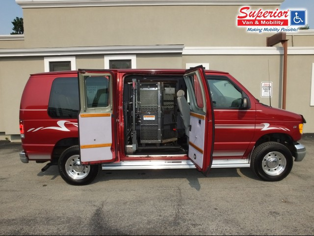2001 ford e 250 wheelchair van for sale non branded full. Black Bedroom Furniture Sets. Home Design Ideas