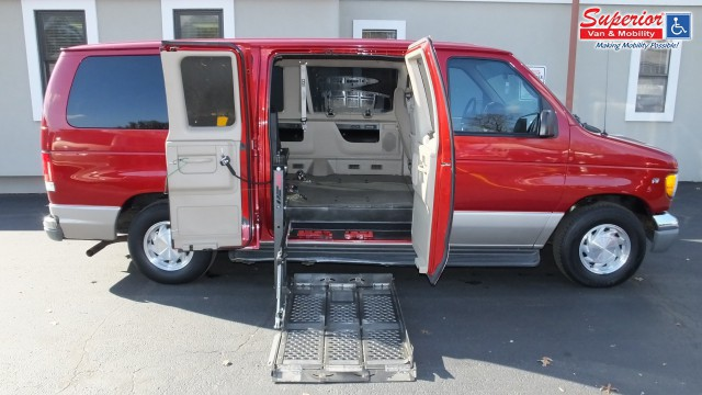 2001 ford econoline wagon wheelchair van for sale non. Black Bedroom Furniture Sets. Home Design Ideas