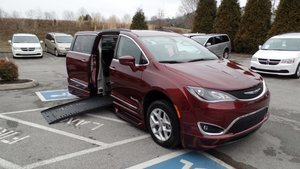 Used Wheelchair Van For Sale: 2017 Chrysler Pacifica Touring Wheelchair Accessible Van For Sale with a BraunAbility BraunAbility Pacifica Foldout XT on it. VIN: 2C4RC1BG2HR676210