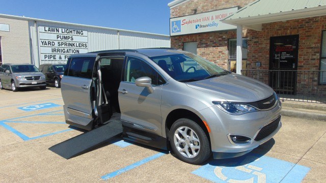 New Wheelchair Van For Sale 2017 Chrysler Pacifica Accessible With A