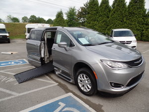 New Wheelchair Van For Sale: 2020 Chrysler Pacifica Touring Wheelchair Accessible Van For Sale with a  on it. VIN: 2C4RC1BG8LR158241