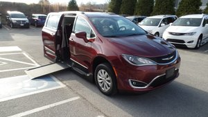 Used Wheelchair Van For Sale 2017 Chrysler Pacifica Touring Accessible With