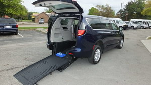 Used Wheelchair Van For Sale: 2017 Chrysler Pacifica LX Wheelchair Accessible Van For Sale with a BraunAbility Chrysler Pacifica Rear-Entry on it. VIN: 2C4RC1CG1HR516060