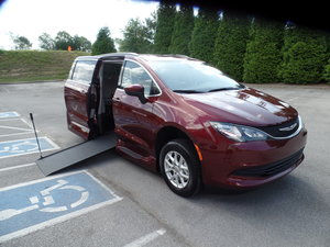 New Wheelchair Van For Sale: 2020 Chrysler Voyager LX Wheelchair Accessible Van For Sale with a  on it. VIN: 2C4RC1DG7LR111909