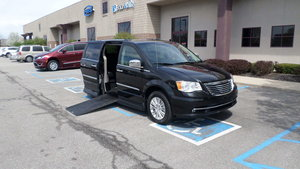 Used Wheelchair Van For Sale: 2014 Chrysler Town & Country Limited Wheelchair Accessible Van For Sale with a Rollx Vans Rollx In Floor Chrysler on it. VIN: 2C4RC1GG7ER143435