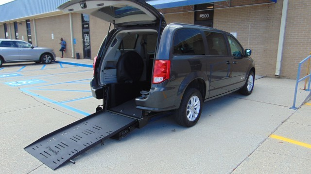 Used Wheelchair Van For Sale 2016 Dodge Grand Caravan Accessible With
