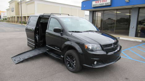 Used Wheelchair Van For Sale: 2019 Dodge Grand Caravan GT Wheelchair Accessible Van For Sale with a  on it. VIN: 2C4RDGEG1KR679893