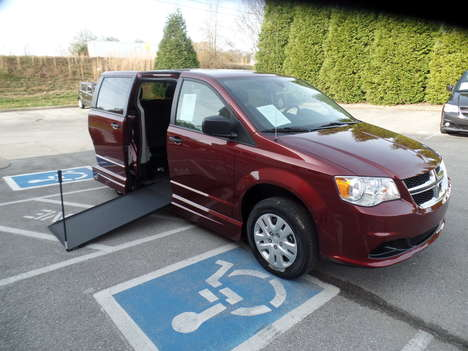 New Wheelchair Van For Sale: 2019 Dodge Grand Caravan SE Wheelchair Accessible Van For Sale with a  on it. VIN: 2C7WDGBG9KR779864
