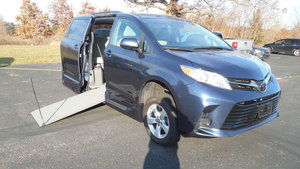 Used Wheelchair Van For Sale: 2018 Toyota Sienna L Wheelchair Accessible Van For Sale with a VMI VMI Northstar E Toyota  on it. VIN: 5TDKZ3DC8JS926097