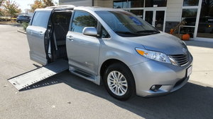 Used Wheelchair Van For Sale: 2016 Toyota Sienna XLE Wheelchair Accessible Van For Sale with a BraunAbility Toyota Rampvan Xi on it. VIN: 5TDYK3DC2GS696788