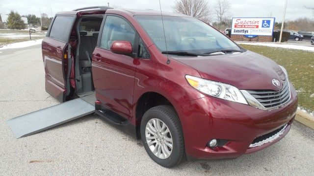 2014 Toyota Sienna XLE Wheelchair Van For Sale - VMI Toyota Northstar Access 360 : , : VIN ...