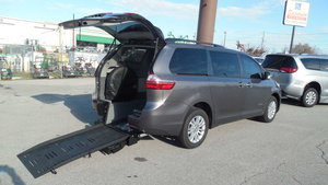 Used Wheelchair Van For Sale: 2015 Toyota Sienna L Wheelchair Accessible Van For Sale with a BraunAbility Toyota Manual Rear Entry on it. VIN: 5TDYK3DCXFS530100