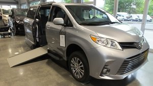 New Wheelchair Van For Sale: 2018 Toyota Sienna XLE Wheelchair Accessible Van For Sale with a VMI Toyota NorthstarAccess360 on it. VIN: 5TDYZ3DC1JS925237
