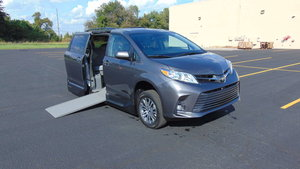 New Wheelchair Van For Sale: 2019 Toyota Sienna XLE Wheelchair Accessible Van For Sale with a VMI Toyota NorthstarAccess360 on it. VIN: 5TDYZ3DC8KS970953