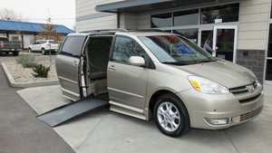 Used Wheelchair Van For Sale: 2005 Toyota Sienna XLE Wheelchair Accessible Van For Sale with a IMS Toyota on it. VIN: 5TDZA22CX5S363627