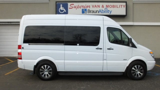 2013 mercedes benz sprinter wheelchair van for sale non for Mercedes benz sprinter conversion van for sale