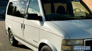 Used Wheelchair Van For Sale: 1998 GMC Safari LE Wheelchair Accessible Van For Sale with a  on it. VIN: 1GKDM19W8WB501268