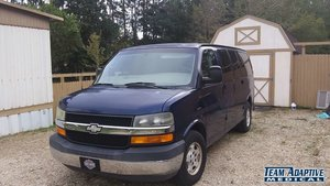 Used Wheelchair Van For Sale: 2004 Chevrolet Express EX Wheelchair Accessible Van For Sale with a  on it. VIN: 1GNFG15T841164232