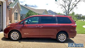 Used Wheelchair Van For Sale: 2016 Toyota Sienna Limited Wheelchair Accessible Van For Sale with a BraunAbility Toyota Power Rear Entry on it. VIN: 5TDYK3DC0GS719176