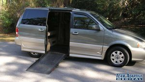 Used Wheelchair Van For Sale 2003 Kia Sedona LX Accessible With