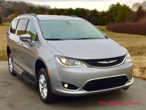 New Wheelchair Van For Sale: 2017 Chrysler Pacifica Touring Wheelchair Accessible Van For Sale with a VMI Dodge Northstar on it. VIN:  2C4RC1BG7HR538968
