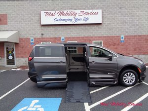 New Wheelchair Van For Sale: 2017 Chrysler Pacifica Touring Wheelchair Accessible Van For Sale with a BraunAbility Chrysler Entervan XT on it. VIN: 2C4RC1BG3HR613830