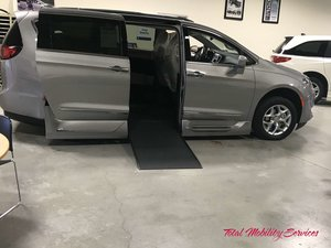 New Wheelchair Van For Sale: 2019 Chrysler Pacifica Touring Wheelchair Accessible Van For Sale with a VMI Chrysler Northstar on it. VIN: 2C4RC1BG4KR522413